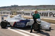 Jackie Weiss made the BMW Licensing Course in Valencia, Spain